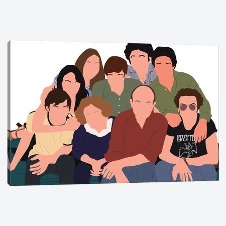That 70'S Show Canvas Print #BRJ44} by BoRiljana Canvas Wall Art