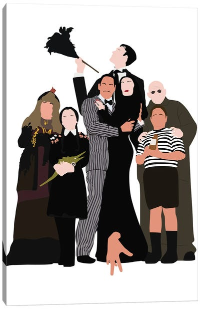 The Addams Family Canvas Art Print