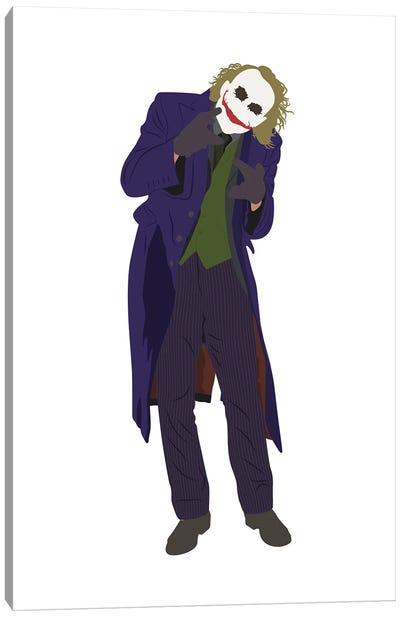 The Dark Knight Joker Canvas Art Print