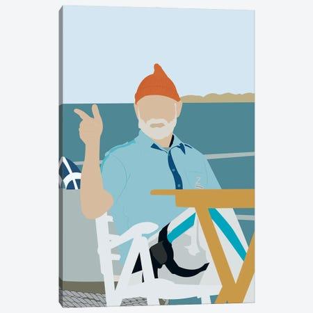 The Life Aquatic With Steve Zissou Canvas Print #BRJ49} by BoRiljana Canvas Print