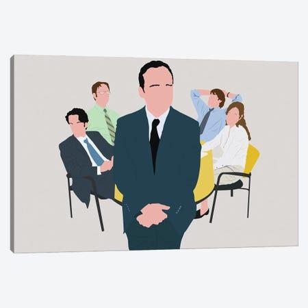 The Office Canvas Print #BRJ50} by BoRiljana Canvas Artwork