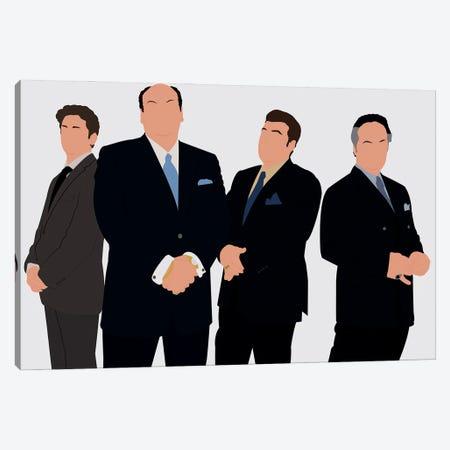The Sopranos Canvas Print #BRJ51} by BoRiljana Canvas Artwork