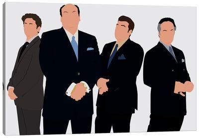 The Sopranos Canvas Art Print