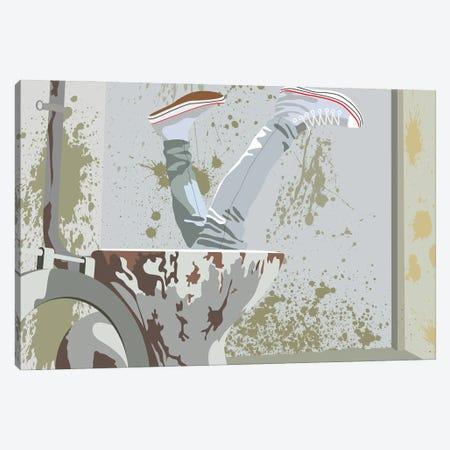 Trainspoting Canvas Print #BRJ52} by BoRiljana Canvas Wall Art