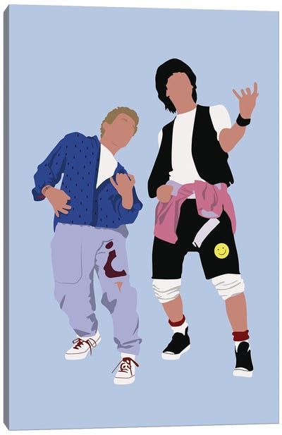 Bill And Ted Canvas Art Print