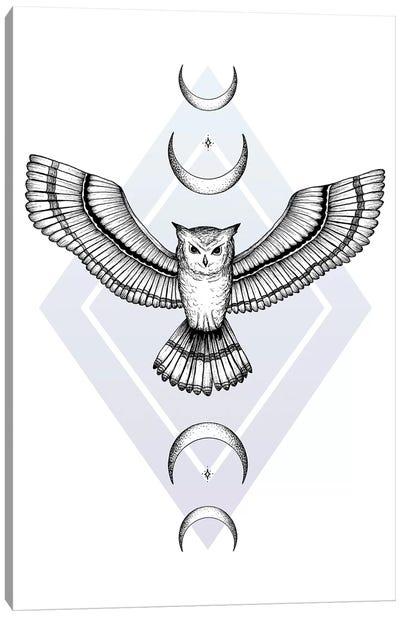 Mystic Owl Canvas Art Print