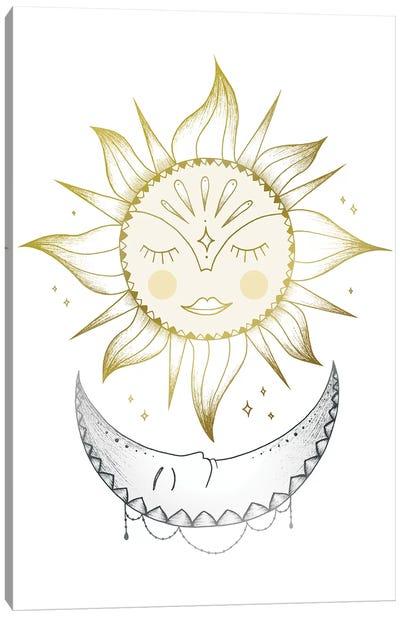 Sun And Moon Canvas Art Print
