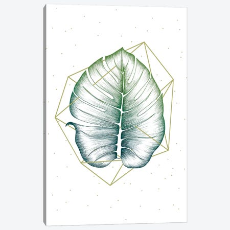 Geometry and Nature II 3-Piece Canvas #BRL106} by Barlena Canvas Art