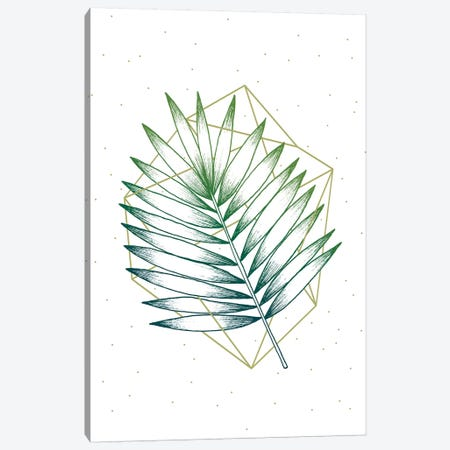 Geometry and Nature IV 3-Piece Canvas #BRL108} by Barlena Art Print