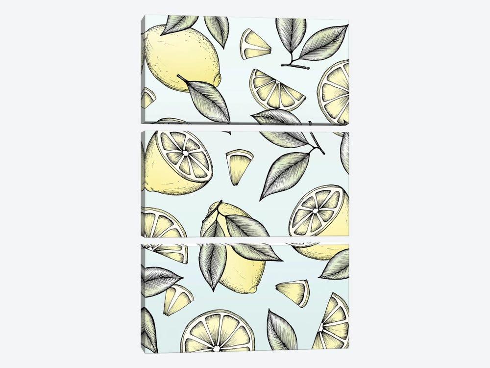 Lemon Tree by Barlena 3-piece Art Print