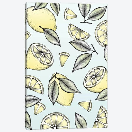 Lemon Tree Canvas Print #BRL112} by Barlena Canvas Artwork