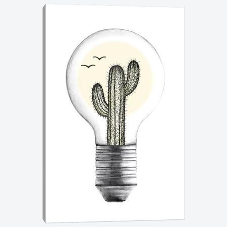Desert Heat Canvas Print #BRL11} by Barlena Canvas Artwork