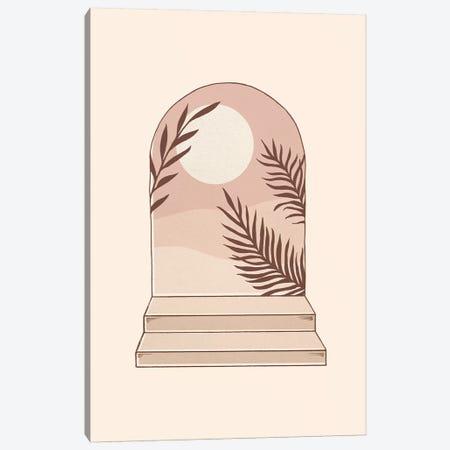Mediterranean Sun Canvas Print #BRL121} by Barlena Art Print