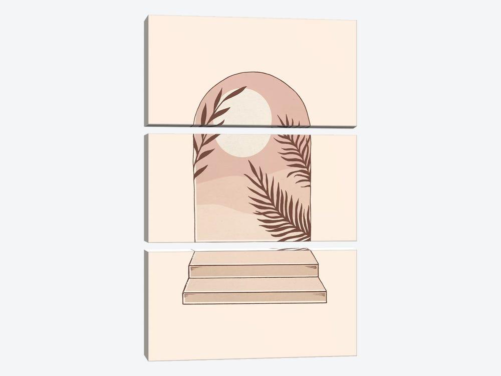 Mediterranean Sun by Barlena 3-piece Art Print