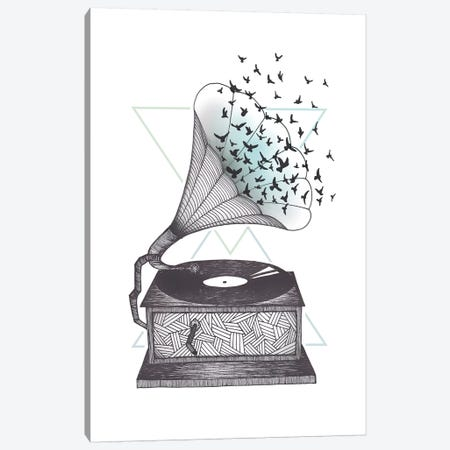 Escape Canvas Print #BRL16} by Barlena Canvas Print