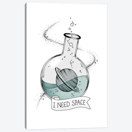 I Need Space Canvas Print #BRL25} by Barlena Canvas Wall Art