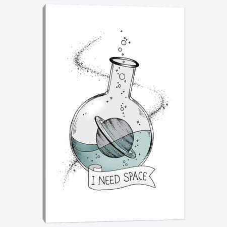 I Need Space Canvas Print #BRL25} by Barlena Canvas Wall Art
