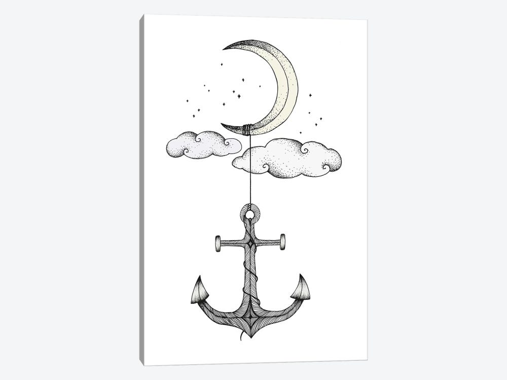 Anchor Your Dreams by Barlena 1-piece Canvas Art Print