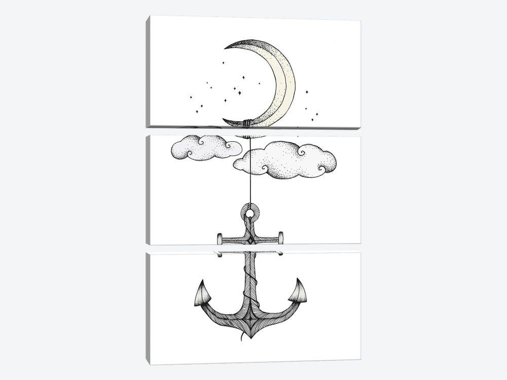 Anchor Your Dreams by Barlena 3-piece Art Print