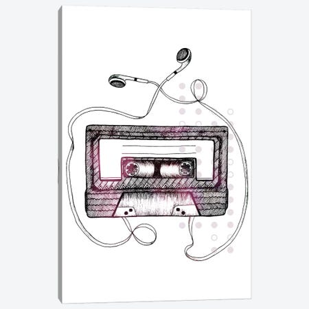 Mixtape 3-Piece Canvas #BRL37} by Barlena Art Print
