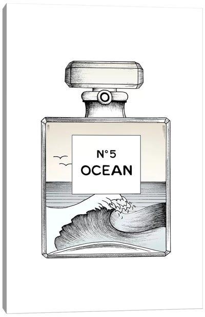 Ocean No. 5 Canvas Art Print