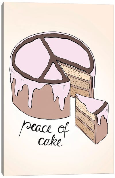 Peace Of Cake Canvas Art Print