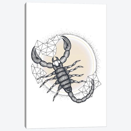 Scorpio 3-Piece Canvas #BRL46} by Barlena Canvas Artwork