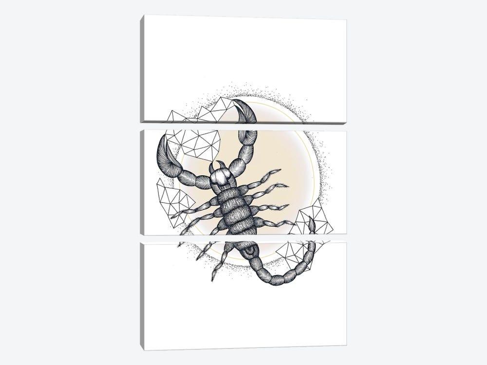Scorpio by Barlena 3-piece Canvas Art