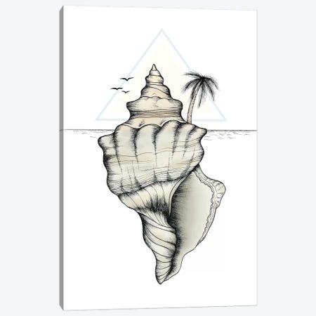 Secret Island Canvas Print #BRL48} by Barlena Canvas Art Print