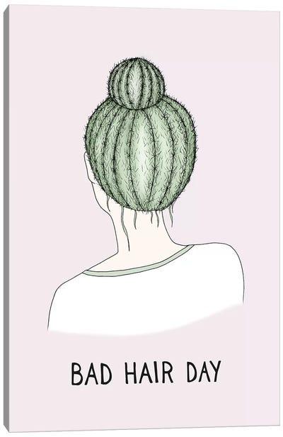 Bad Hair Day Canvas Art Print