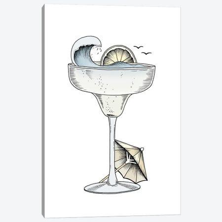 Summer Cocktail Canvas Print #BRL54} by Barlena Canvas Print