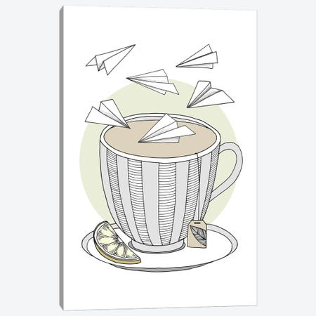 Teatime Canvas Print #BRL58} by Barlena Canvas Art