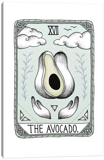 The Avocado Canvas Art Print