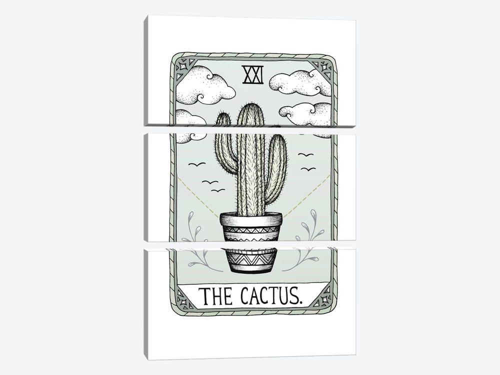 The Cactus by Barlena 3-piece Canvas Art Print