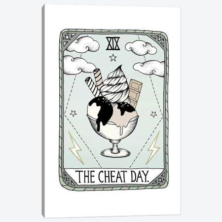The Cheat Day Canvas Print #BRL62} by Barlena Art Print