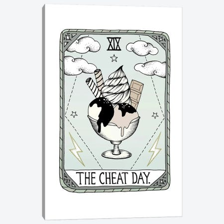 The Cheat Day Canvas Print #BRL62} by Barlena Art Print