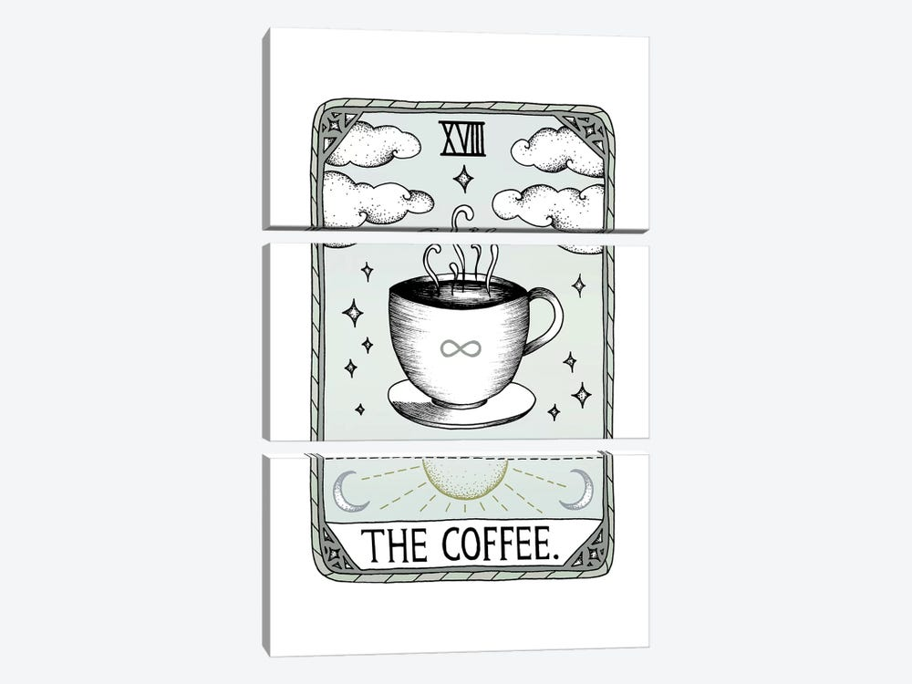The Coffee by Barlena 3-piece Canvas Art Print