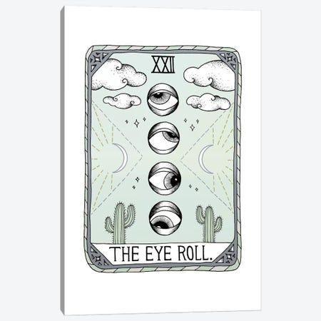 The Eye Roll Canvas Print #BRL64} by Barlena Canvas Art