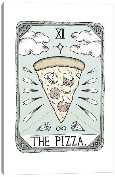 The Pizza Canvas Art Print