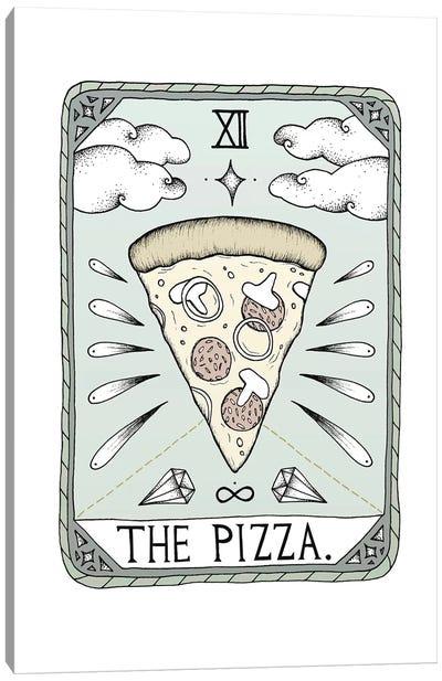 The Pizza Canvas Art Print