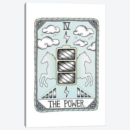 The Power Canvas Print #BRL75} by Barlena Canvas Art Print