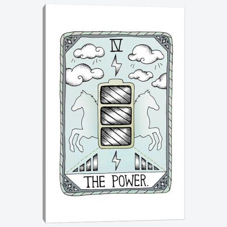 The Power Canvas Print #BRL75} by Barlena Canvas Art Print