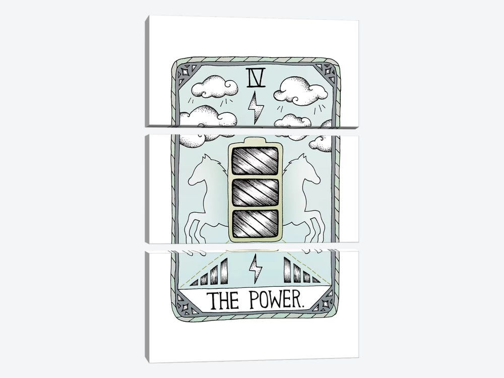 The Power by Barlena 3-piece Canvas Wall Art