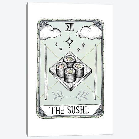 The Sushi Canvas Print #BRL77} by Barlena Art Print
