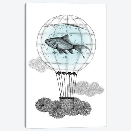 Up And Away Canvas Print #BRL88} by Barlena Canvas Print
