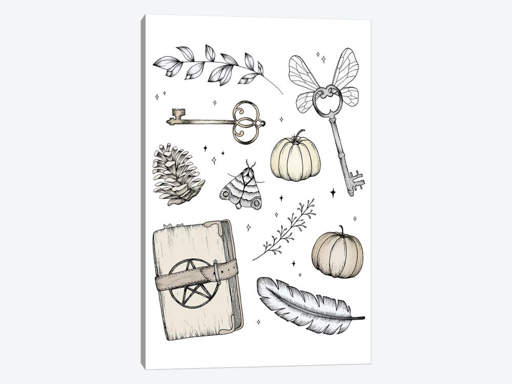Magical Treasures by Barlena 1-piece Art Print