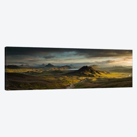 Lake Alftavatn, Laugavegur Trail, Iceland Canvas Print #BRN1} by Rob Brown Canvas Art