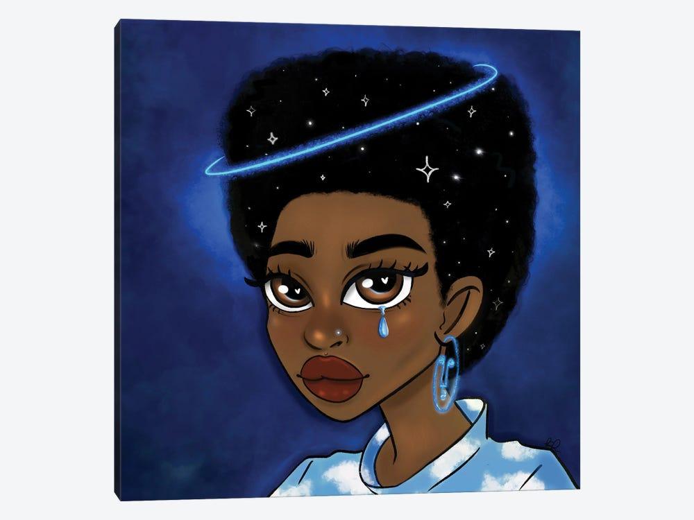 Star Gazing by Bri Pippens 1-piece Canvas Artwork