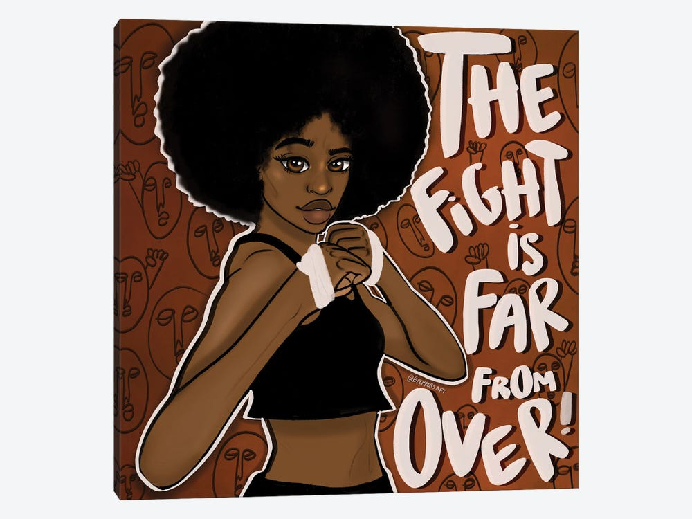 Fight On by Bri Pippens 1-piece Art Print
