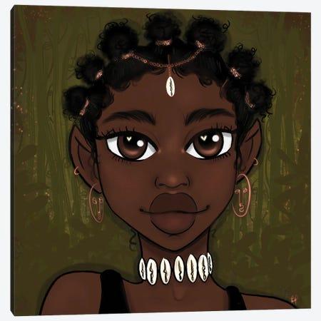 Nubia Canvas Print #BRP29} by Bri Pippens Art Print